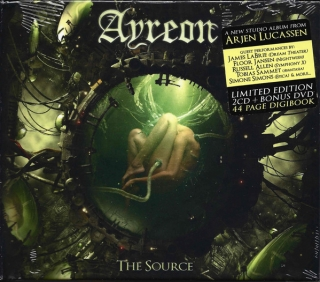 Ayreon ‎– The Source [2CD+DVD] Import