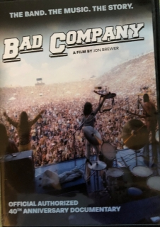 Bad Company ‎– The Official Authorised 40th Anniversary Documentary [DVD]