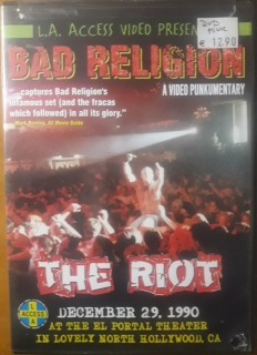 Bad Religion ‎– The Riot [DVD] Import