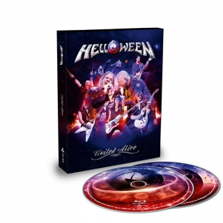 Helloween ‎– United Alive In Madrid (Digibook) [2Blu-Ray] Import