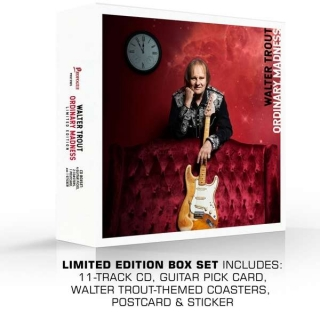 Walter Trout - Ordinary Madness (Ltd. Edition Box Set) [CD+Merchandising] Import