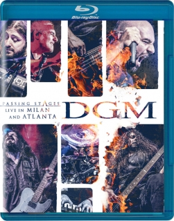 DGM ‎– Passing Stages - Live In Milan And Atlanta [Blu-Ray] Import