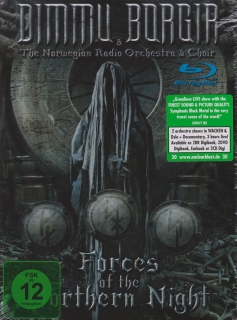 Dimmu Borgir ‎– Forces Of The Northern Night (Digibook) [2Blu-Ray] Import