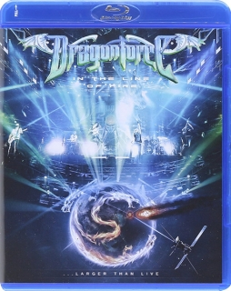Dragonforce ‎– In The Line Of Fire (Larger Than Live) [Blu-Ray] Import