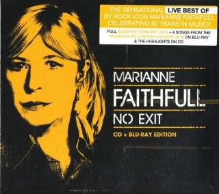 Marianne Faithfull ‎– No Exit [Blu-Ray+CD] Import