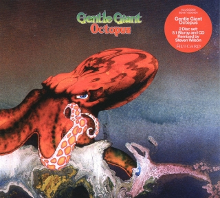 Gentle Giant ‎– Octopus [CD+Blu-Ray Audio] Import