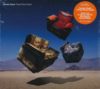 Gentle Giant ‎– Three Piece Suite (Digipak) [CD+Blu-Ray Audio] Import