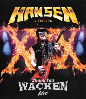 Hansen & Friends ‎– Thank You Wacken Live (Lim. Edition) [CD+Blu-Ray] Import