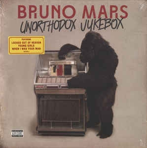 Bruno Mars ‎– Unorthodox Jukebox [LP] Import