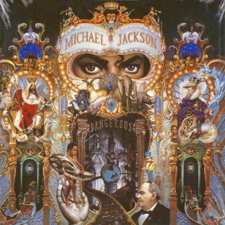 Michael Jackson ‎– Dangerous [2LP] Import