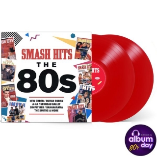 VA ‎- Smash Hits 80s (Ltd Red Vinyl) [2LP] Import