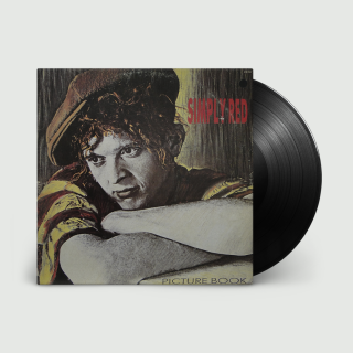 Simply Red – Picture Book (Ltd Black Vinyl) [LP] Import