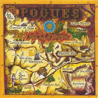 The Pogues ‎– Hell's Ditch (Ltd Yellow Vinyl) [LP] Import