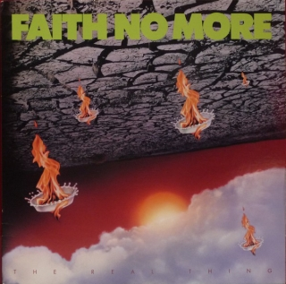 Faith No More ‎– The Real Thing (Ltd Opaque Yellow Vinyl) [LP] Import