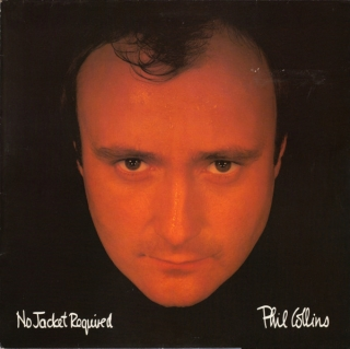 Phil Collins ‎– No Jacket Required (Ltd Orange Vinyl) [LP] Import