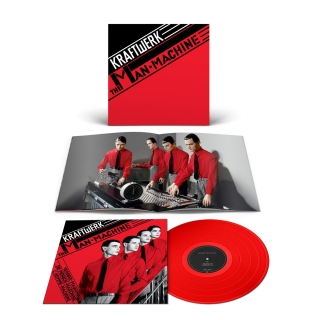 Kraftwerk - ‎The Man-Machine (Ltd Red Vinyl) [LP] Import
