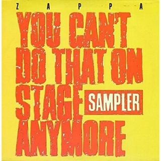 Frank Zappa - You Can't Do That On Stage Anymore (RSD 2020) [2LP] Import