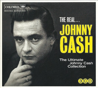 Johnny Cash ‎– The Real... Johnny Cash [3CD] Import