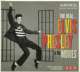 Elvis Presley ‎– The Real... Elvis Presley At The Movies [3CD] Import