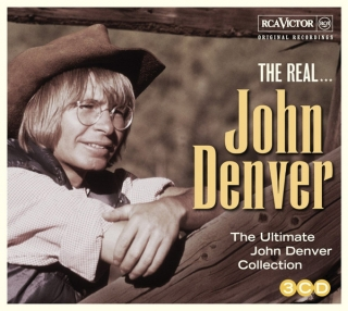 John Denver ‎– The Real... John Denver [3CD] Import