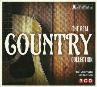 Various ‎– The Real... Country Collection [3CD] Import