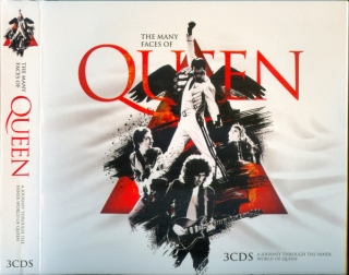 Various ‎– The Many Faces Of Queen [3CD] Import