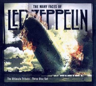 Various ‎– The Many Faces Of Led Zeppelin [3CD] Import