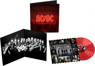 AC/DC ‎– Power Up (Red Vinyl) [LP] Import