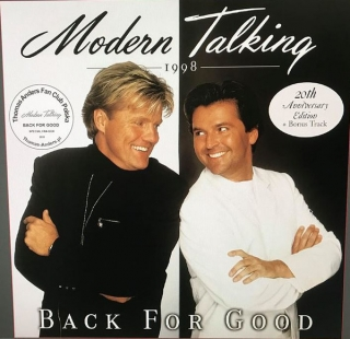 Modern Talking ‎– Back For Good (20th Anniversary Edition) [2LP] Import