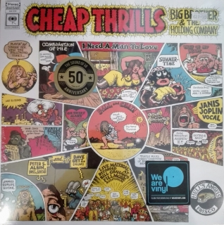 Big Brother & The Holding Company ‎– Cheap Thrills [LP] Import