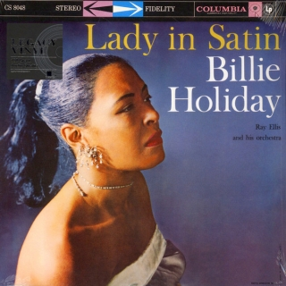 Billie Holiday ‎– Lady In Satin [LP] Import