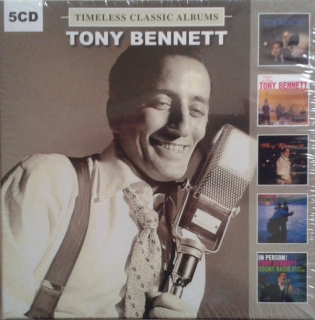 Tony Bennett – Timeless Classic Albums [5CD] Import