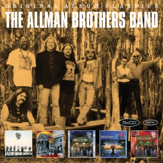 The Allman Brothers Band – Original Album Classics [5CD] Import